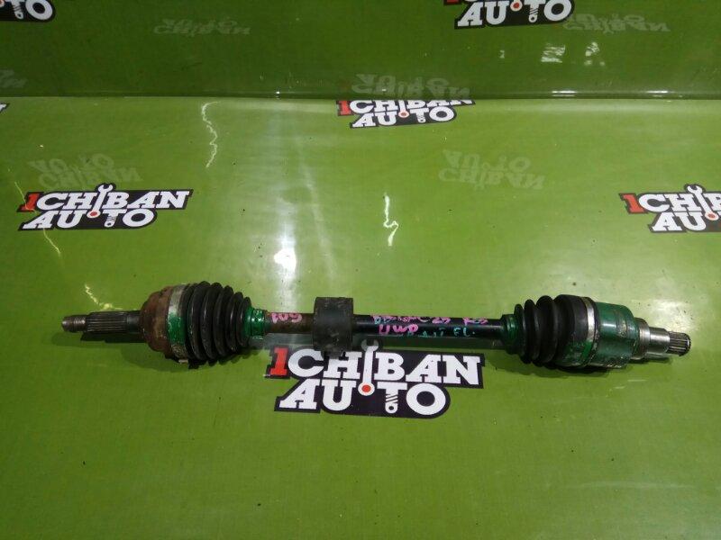 Привод передний левый TOYOTA BB QNC25 K3-VE 43420-B1030 контрактная