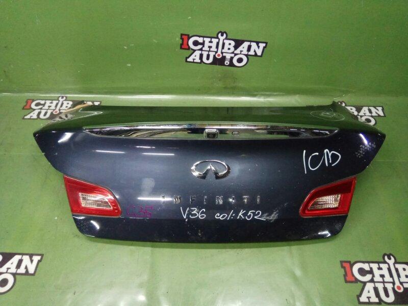 Крышка багажника INFINITI G35 V36 контрактная