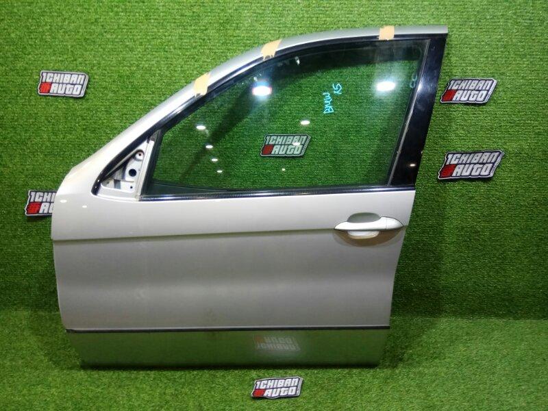 Дверь передняя левая BMW X5 E53 контрактная