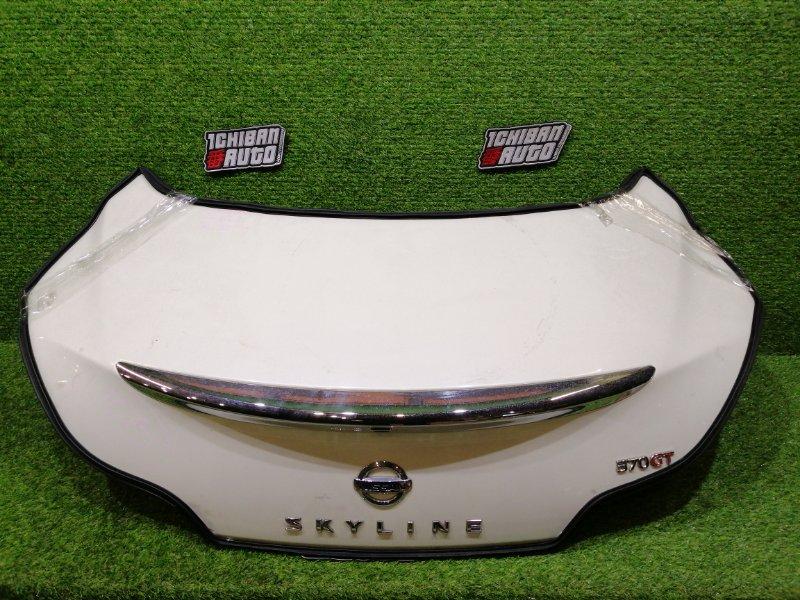 Крышка багажника задняя NISSAN SKYLINE CKV36 H430MJL0MA контрактная