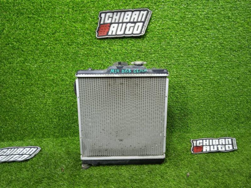 Радиатор основной ISUZU GEMINI MJ4 D15B контрактная