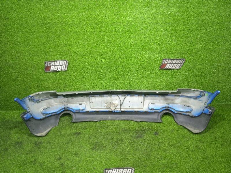 Бампер задний COOPER S 2008 R55