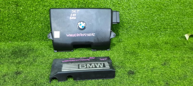 Крышка двс декоративная BMW 1-series E87 1371 7561927-01 контрактная