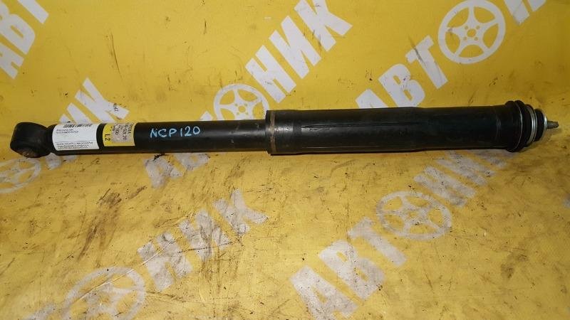 Амортизатор задний TOYOTA RACTIS 10.2010-08.2016 NCP120 1NZ-FE 48530-52L20 контрактная