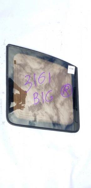 Стекло собачника заднее правое ISUZU BIGHORN 1996 UBS69 4JG2 контрактная