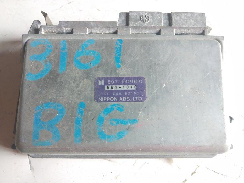 Блок управления ISUZU BIGHORN UBS69 4JG2 8971143600 контрактная