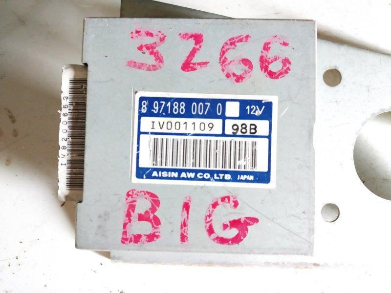 Блок управления ISUZU BIGHORN UBS69 4JX1 8971880070 контрактная