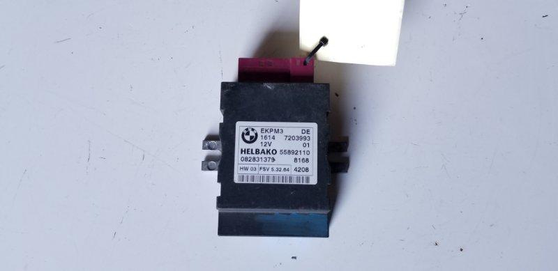 Блок управления топливным насосом BMW X6 11.2008 E71 M57N2 1614 7203993 контрактная