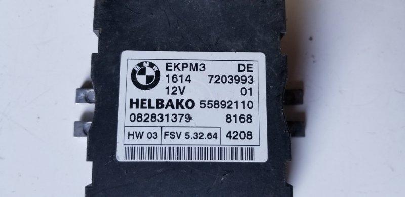Блок управления топливным насосом X6 11.2008 E71 M57N2
