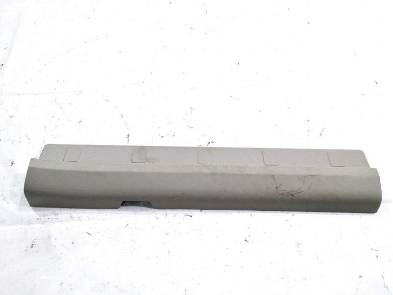 Накладка на порог салона передняя левая NISSAN XTRAIL 2001 T30 QR20DE 769528H300 контрактная