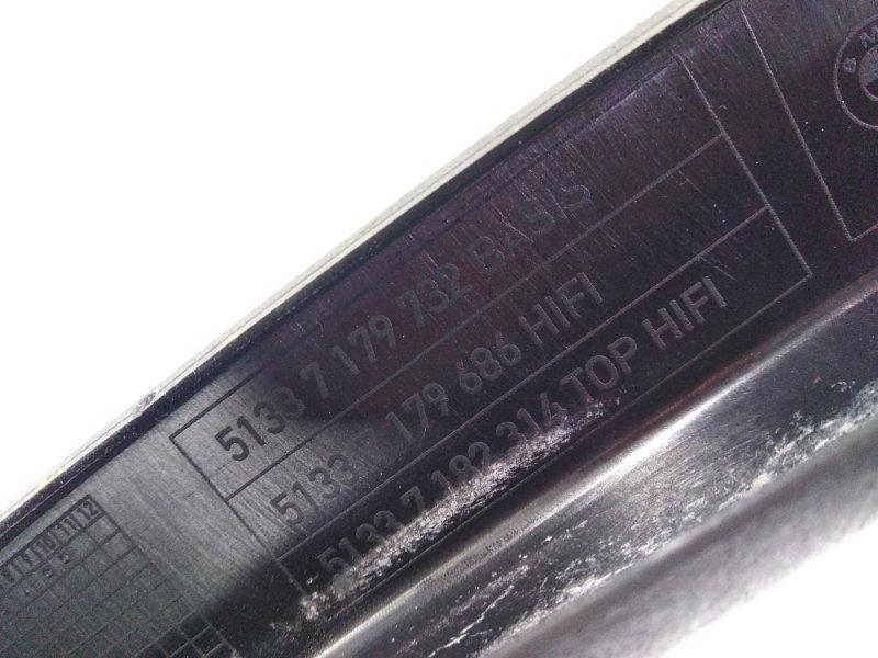 Обшивка салона передняя правая X6 2008 E71 N54B30A