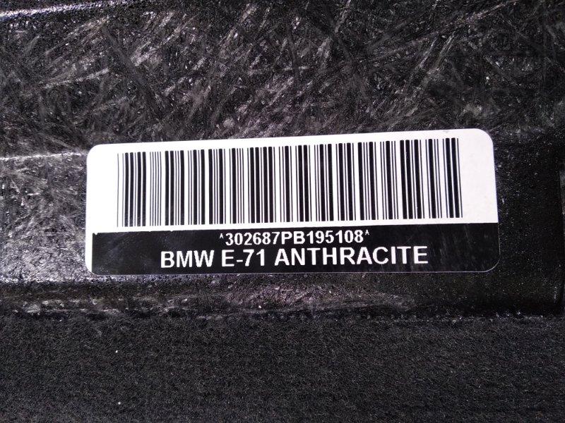 Пол багажника пластик BMW X6 E71 N54B30A