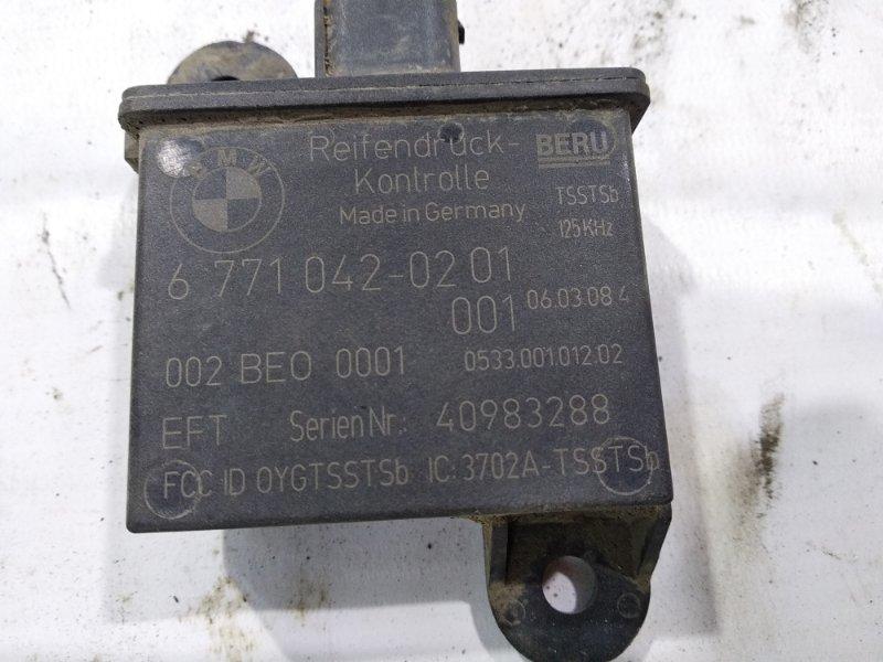 Датчик давления в шинах задний левый X6 2008 E71 N54B30A