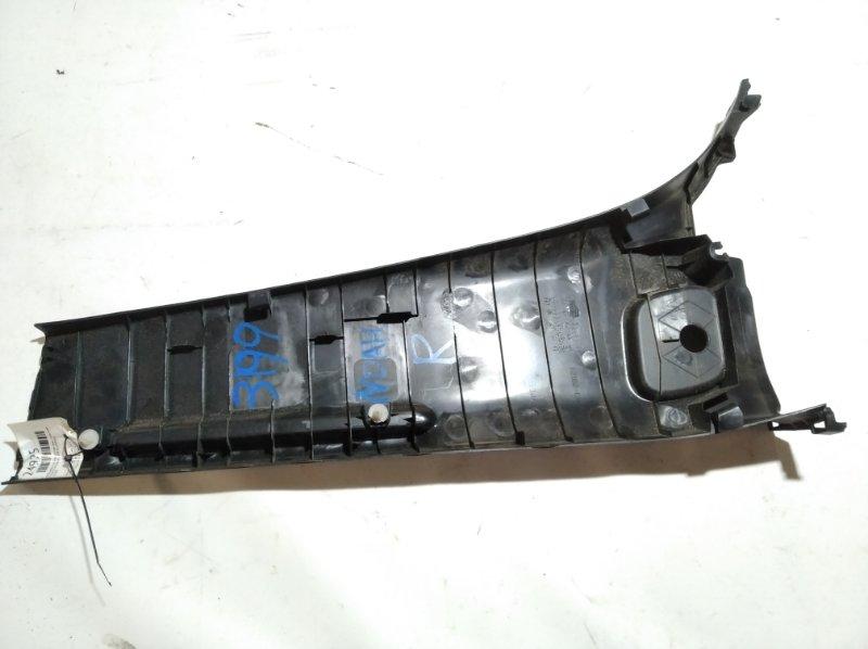 Обшивка стойки кузова задняя правая NOAH ZWR80G 2ZRFXE