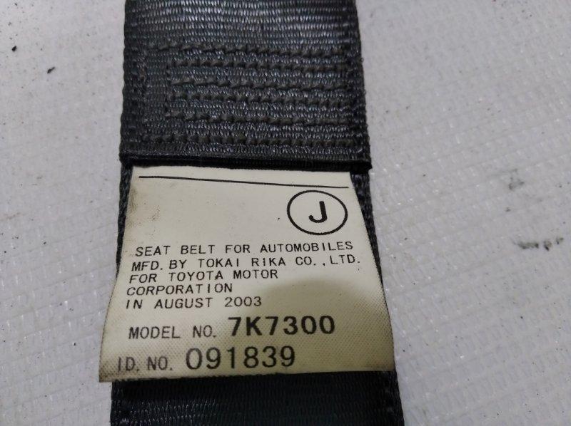 Ремень безопасности задний правый HARRIER 2003 ACU30 1MZFE