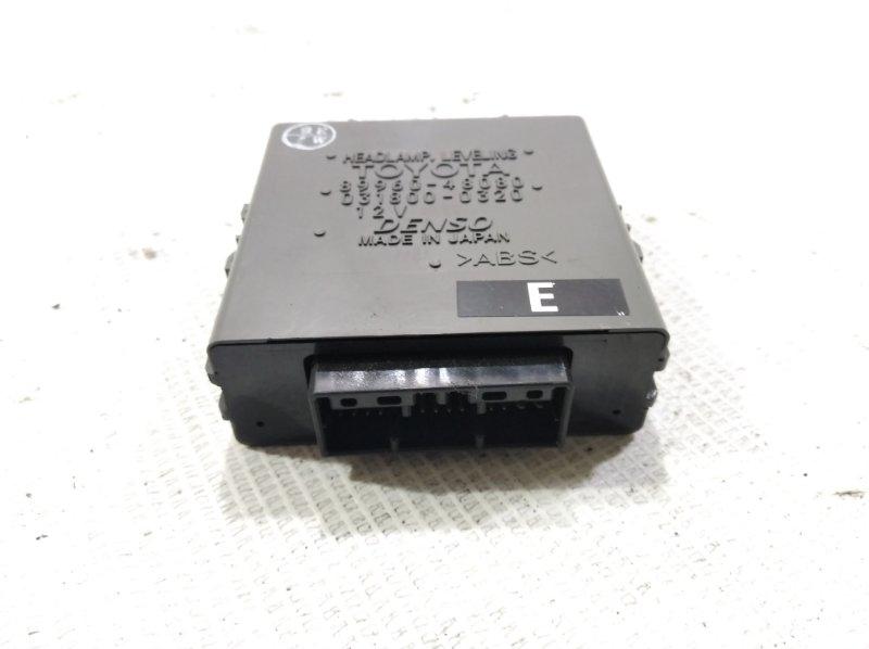 Блок управления фарами TOYOTA HARRIER 2003 ACU30 1MZFE 8996048080 контрактная