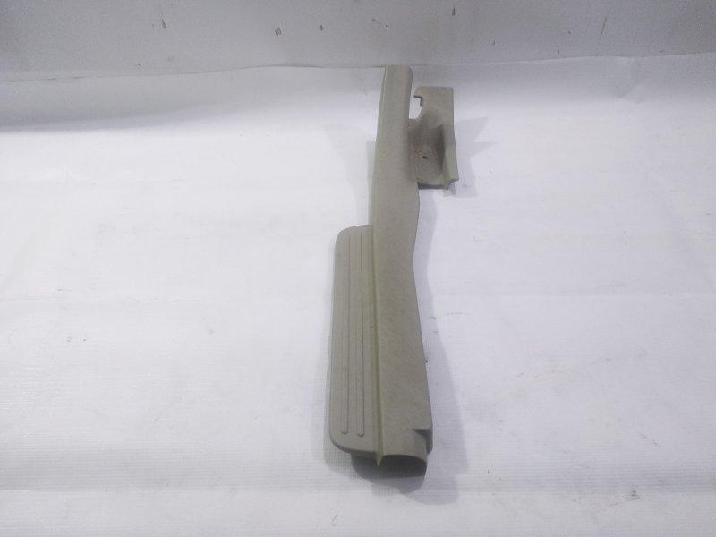 Накладка на порог салона задняя правая TOYOTA PASSO SETTE 2009 M502E 3SZFE 67917B1030 контрактная
