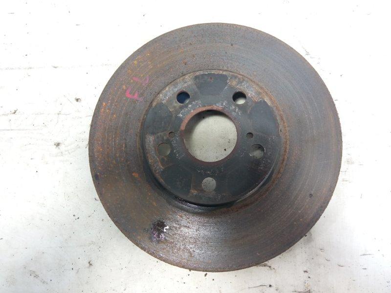 Тормозной диск передний левый TOYOTA ALLION 2005 AZT240 1ZZFE 4351220711 контрактная