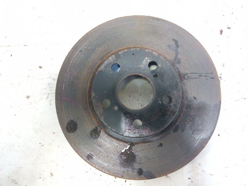 Тормозной диск передний правый TOYOTA ALLION 2005 AZT240 1ZZFE 4351220711 контрактная