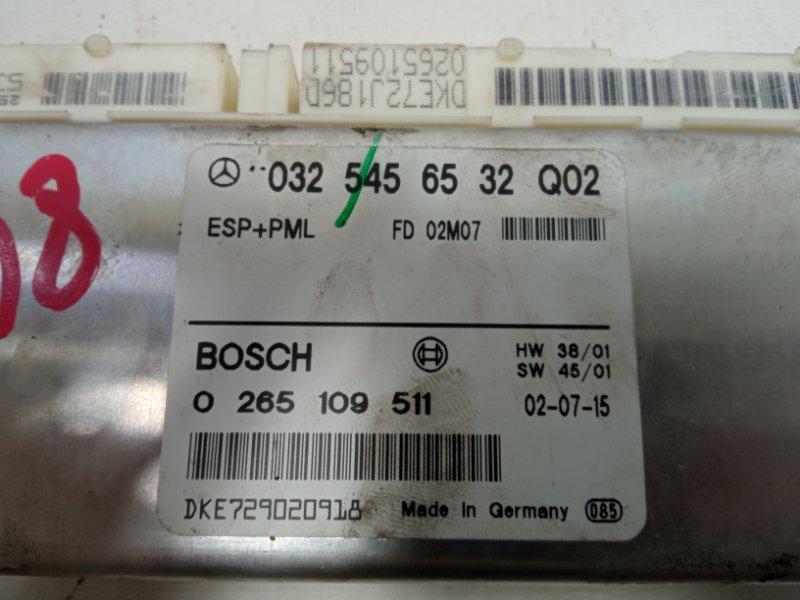 Блок управления abs Mercedes-Benz E-Class W211 M113E50