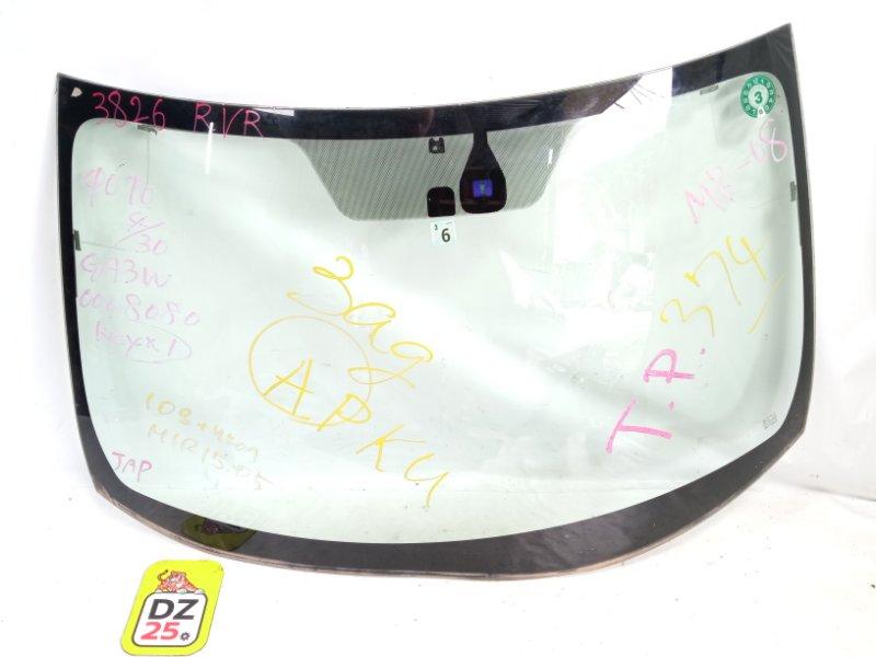 Лобовое стекло переднее MITSUBISHI RVR 2010 GA3W 4B10 контрактная