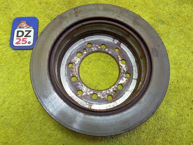 Тормозной диск задний левый LAND CRUISER PRADO 2001 KDJ90 1KDFTV