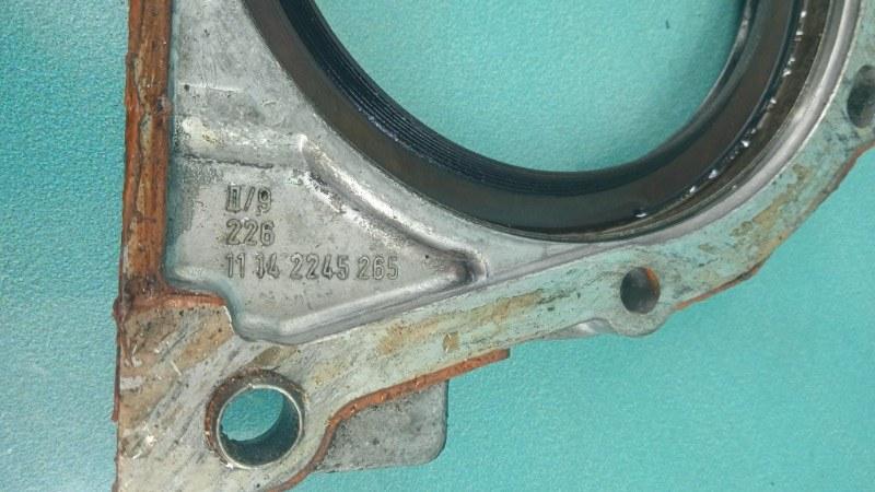 Крышка коленвала BMW 3-Series  M57D30T