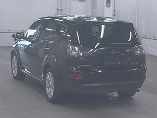 Подкрылок задний правый Mitsubishi Outlander 2007 CW6W 6B31 5370A270 контрактная
