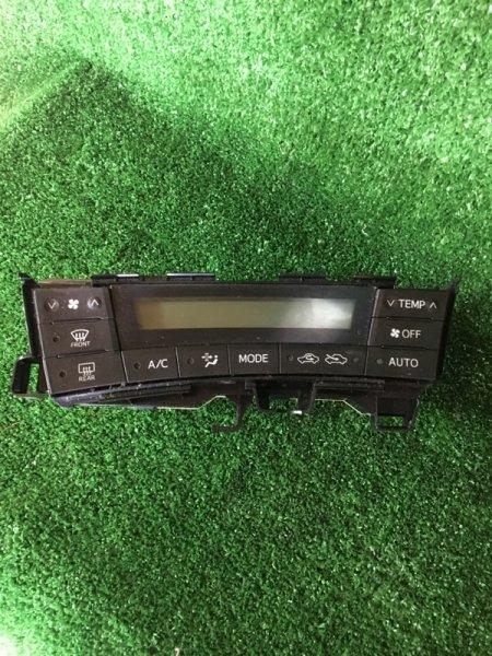 Блок управления климат-контролем Toyota Prius 2010 ZVW30 2ZR-FXE контрактная