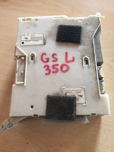Электронный блок LEXUS GS300 GRS190 3GRFSE 82730-30282 контрактная