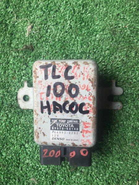 Блок управления топливным насосом TOYOTA LAND CRUISER UZJ100 2UZFE 89570-60140 контрактная