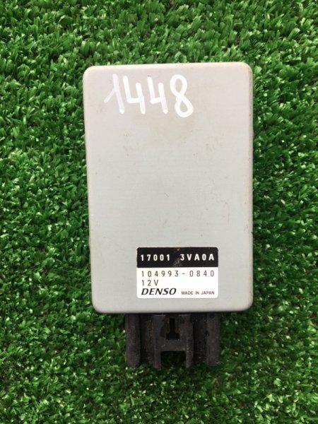 Реле топливного насоса NISSAN NOTE 2013 E12 HR-12 17001-3VA0A контрактная