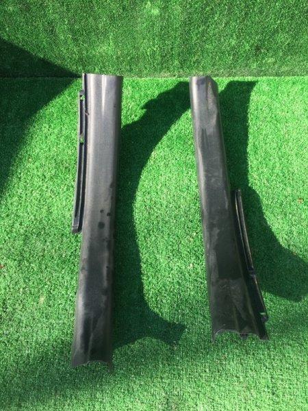 Порожек пластиковый задний правый Toyota Aqua 2012 Nhp-10 1NZFXE контрактная