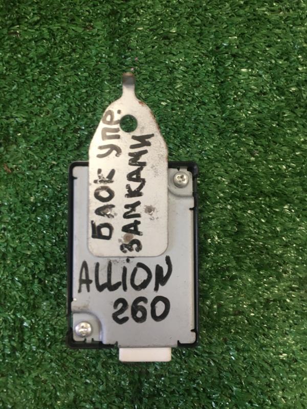 Блок управления дверьми Toyota Allion NZT260 1NZ-FE