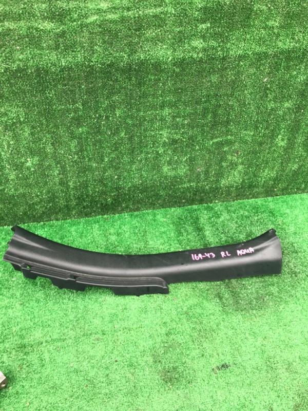 Порожек пластиковый задний левый Toyota Aqua 2015 Nhp-10 1NZFXE контрактная