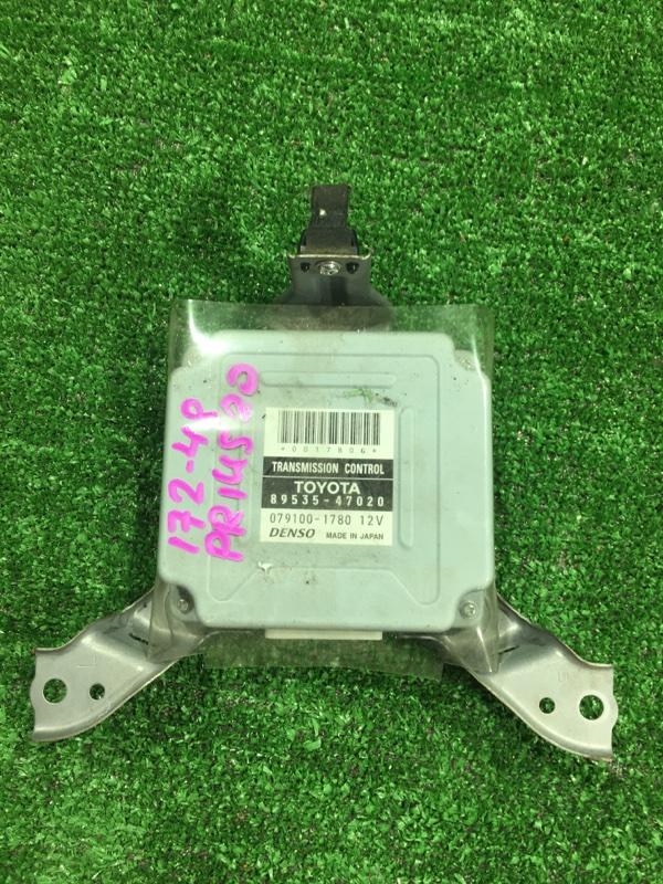 Блок переключения кпп Toyota Prius 2009 NHW20 1NZFXE 89535-47020 контрактная