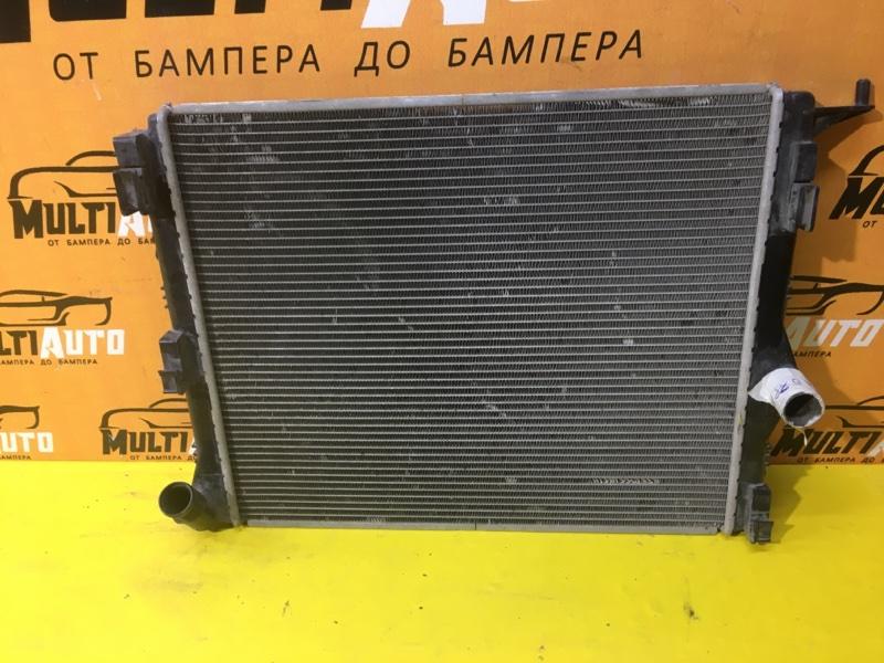 Радиатор охлаждения двигателя Renault Logan 2009-2015 1 8200735038 БУ