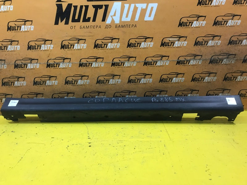 Накладка порога левая Mini Cooper Hatch 2013-2018 F56 51777300817 Б/У