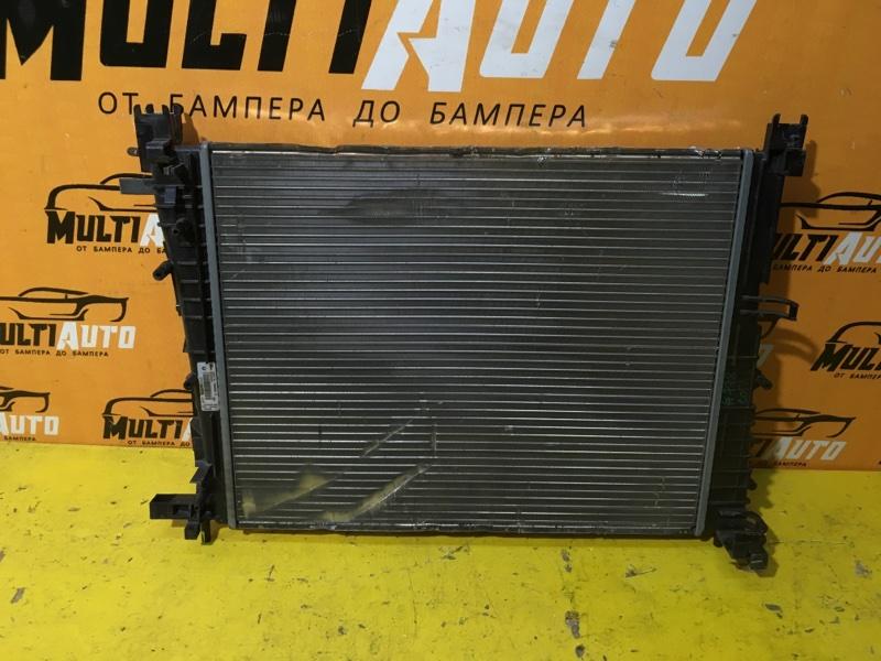 Радиатор основной Renault Logan 2013-2020 2 214105731r БУ
