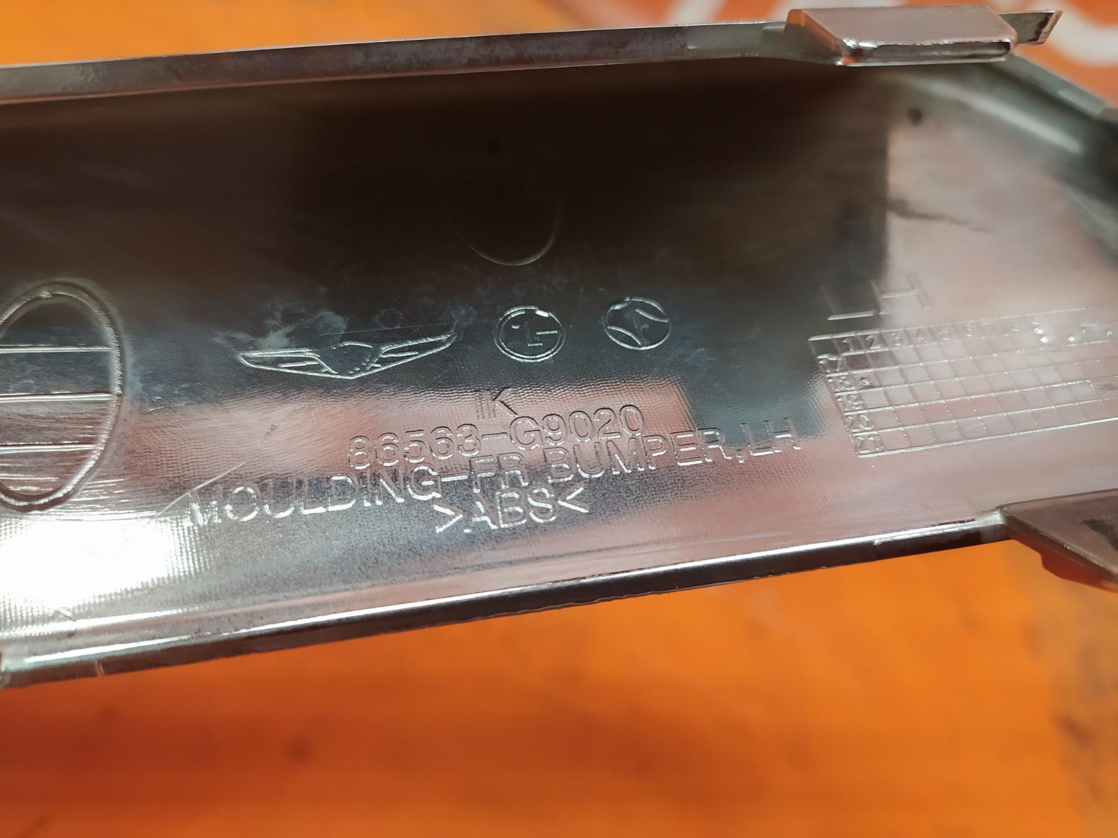 Окантовка ПТФ левая G70 2017-нв 1