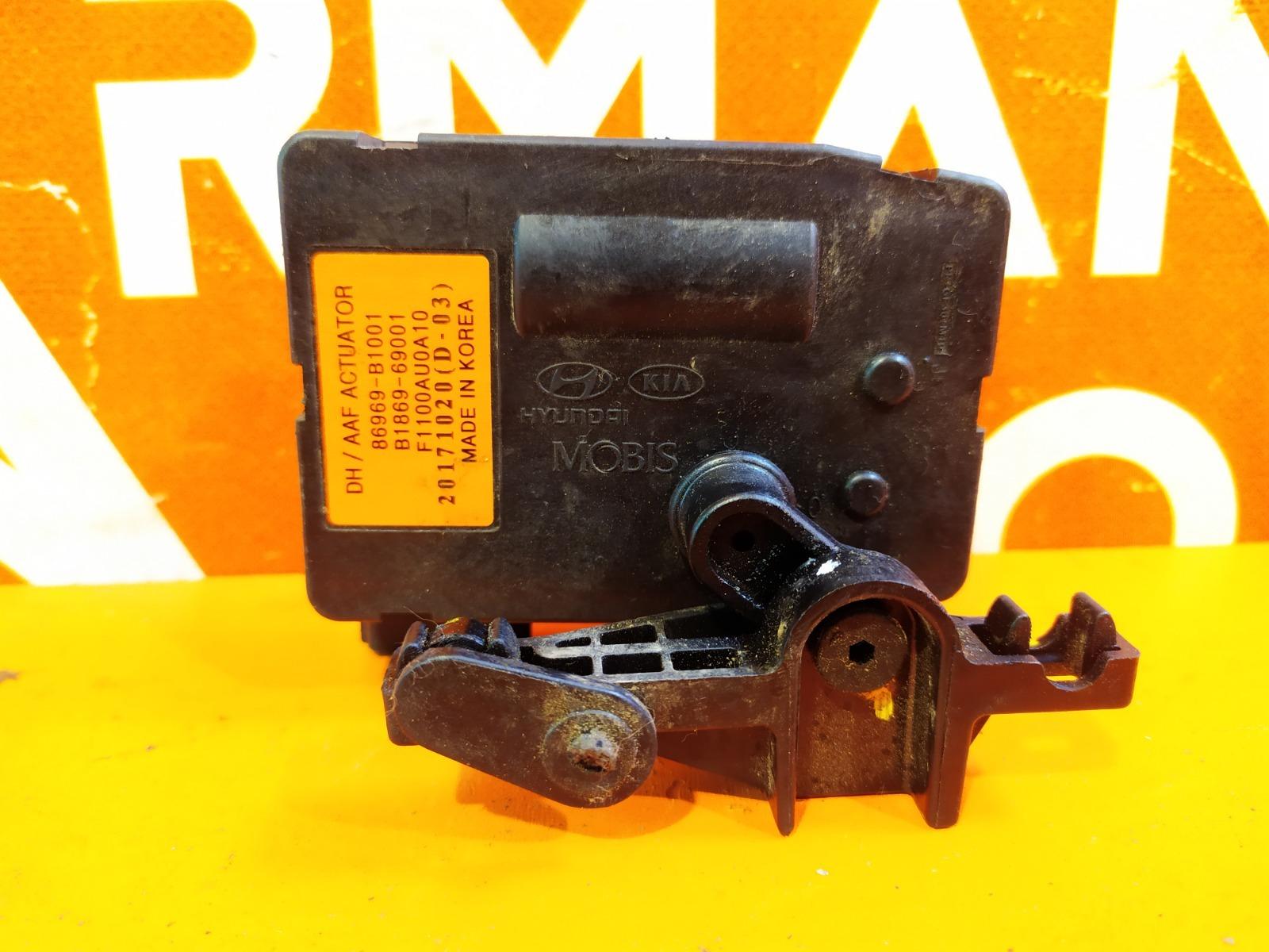 Мотор заслонки решетки радиатора Genesis G80 2016-нв 1 Б/У