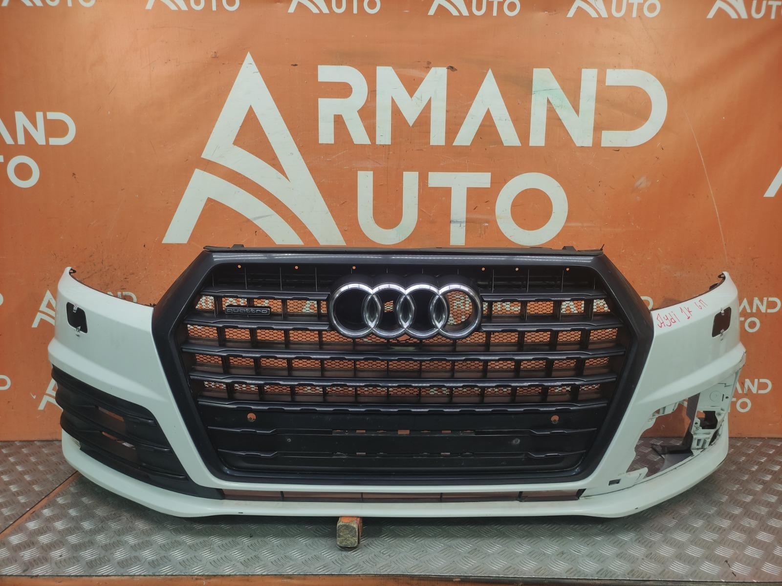 Бампер передний Audi Q7 2015-нв 2 4M 4M0807065DGRU контрактная