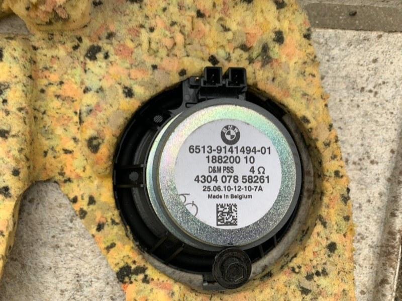 Динамик задний 3 2010 E90 N53B30A 3.0L