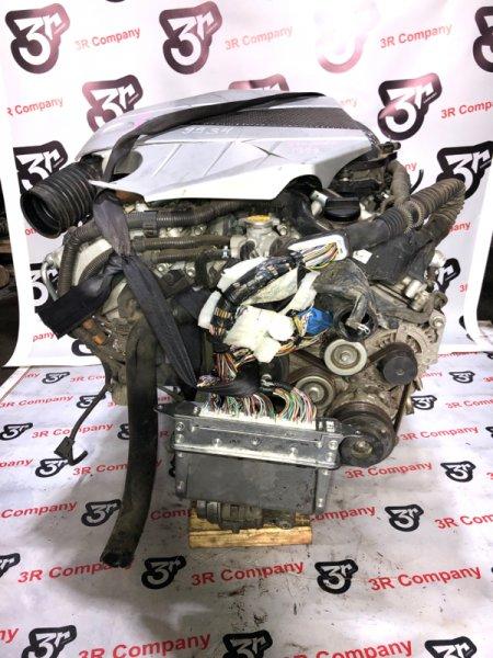 Двигатель TOYOTA CROWN 2005 GRS184 2GR-FSE 19000-31B10 контрактная