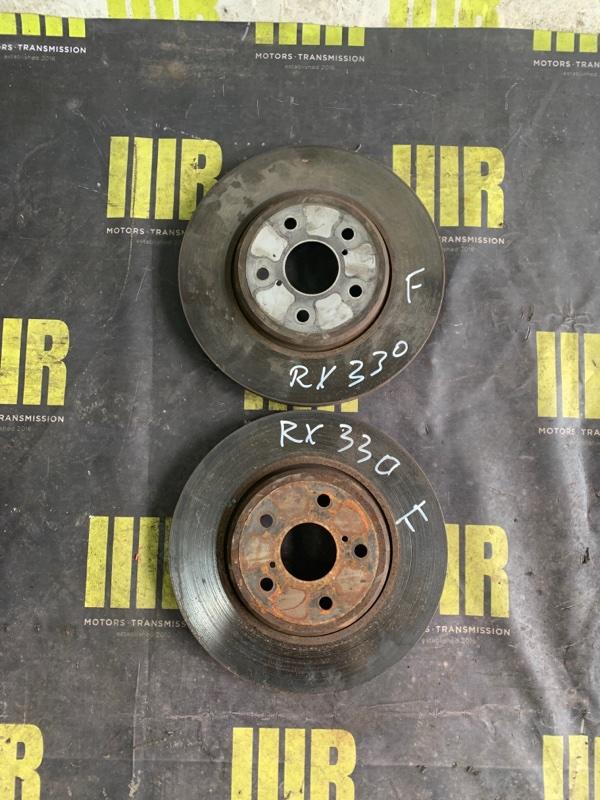 Тормозной диск передний LEXUS RX330 MCU35 контрактная