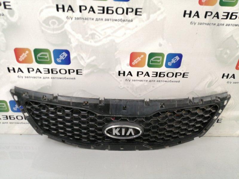 Решетка радиатора Kia Sorento 2 Рест 86350-2p000 Б/У