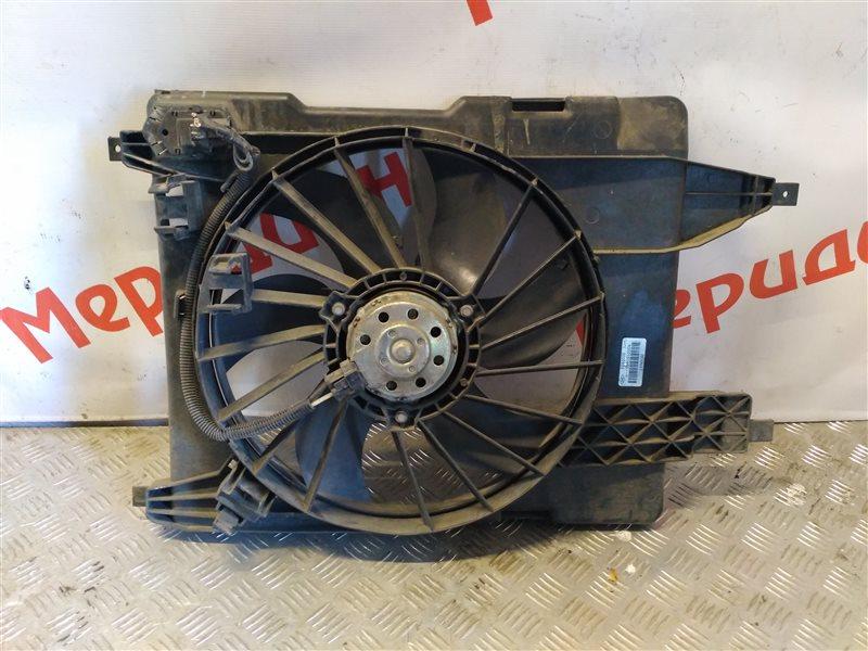 Вентилятор радиатора RENAULT SCENIC 2006 JM 1.5 8200151465 БУ