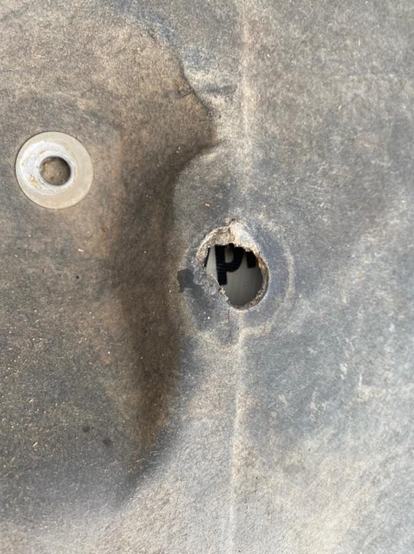 Пыльник защита двигателя Santa Fe 4