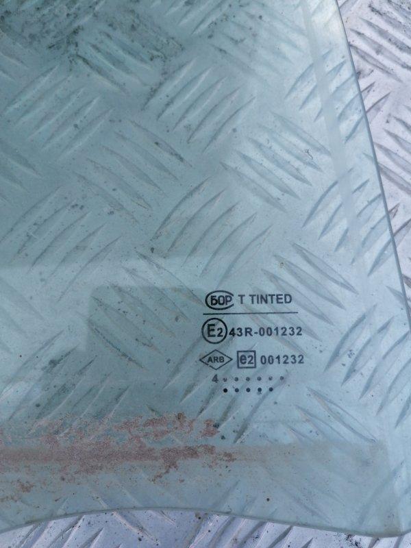 Стекло заднее правое Ларгус 2014 R90 1.6 K7M
