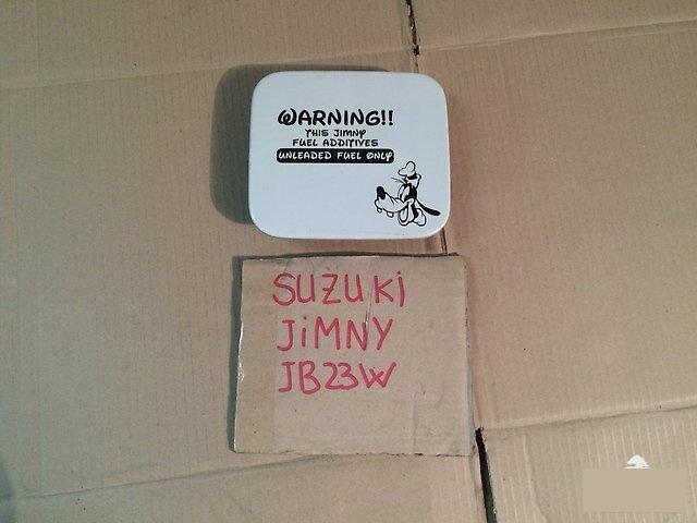 Лючок бензобака SUZUKI JIMNY 2002г.; JB23W K6A 65950-81A02 контрактная